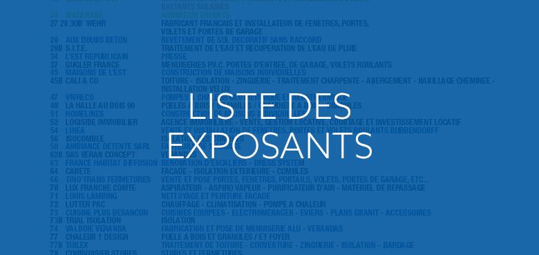 11ème Salon Habitat et Économies d'énergies de Montbéliard